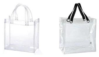エクスプレスジャパンのクリアバッグ