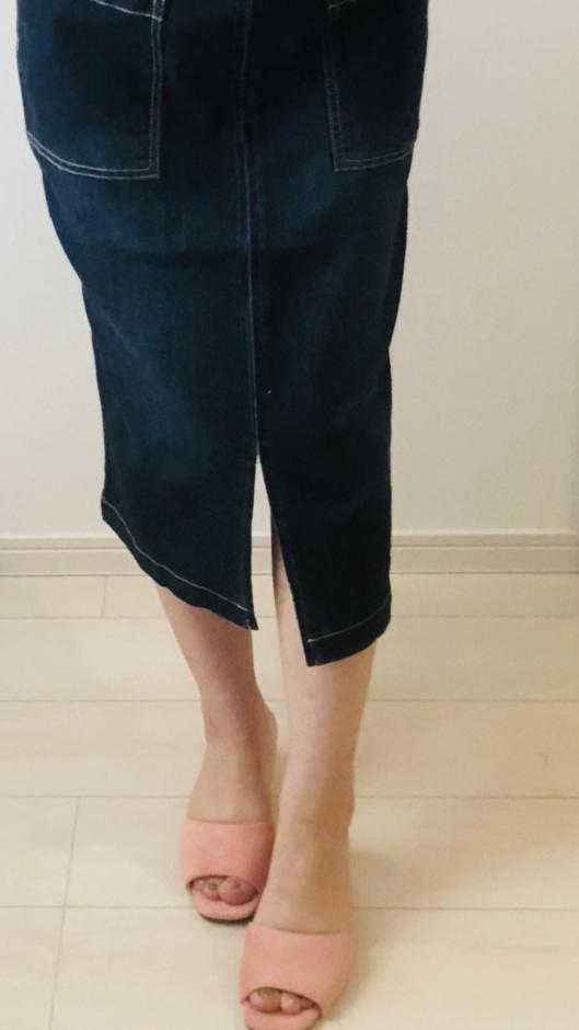 夢展望の定番ワンベルトサンダル 24.0cm コーラル
