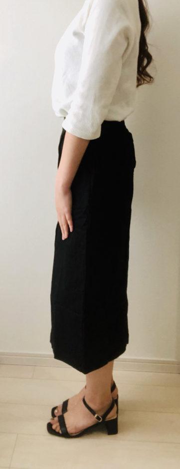 Muse & co(ミューズコー)で黒のタイトスカートを購入