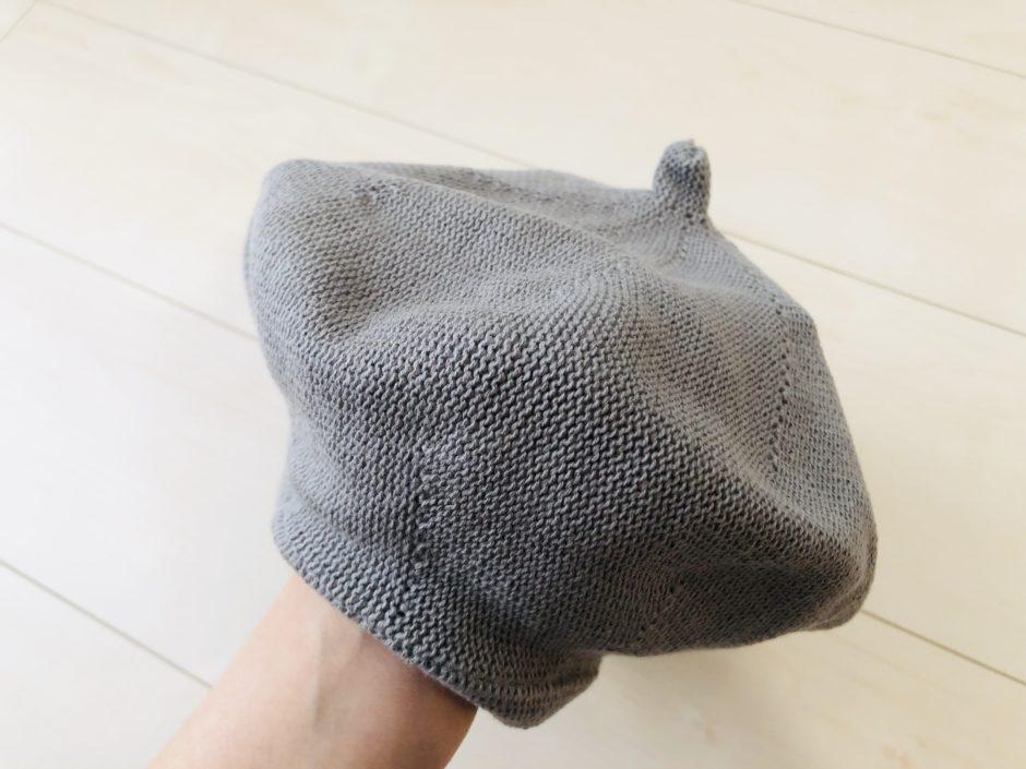 夢展望のフレンチガーリーサーモベレー帽