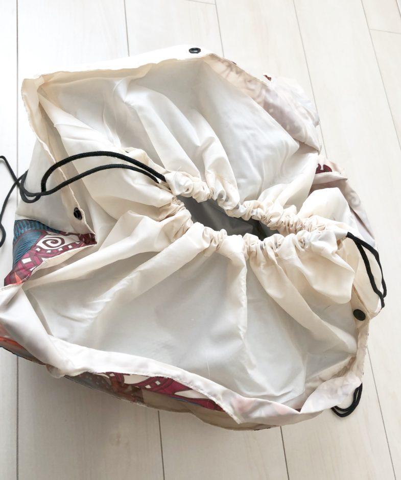 プチプラ夢展望のレジカゴバッグ