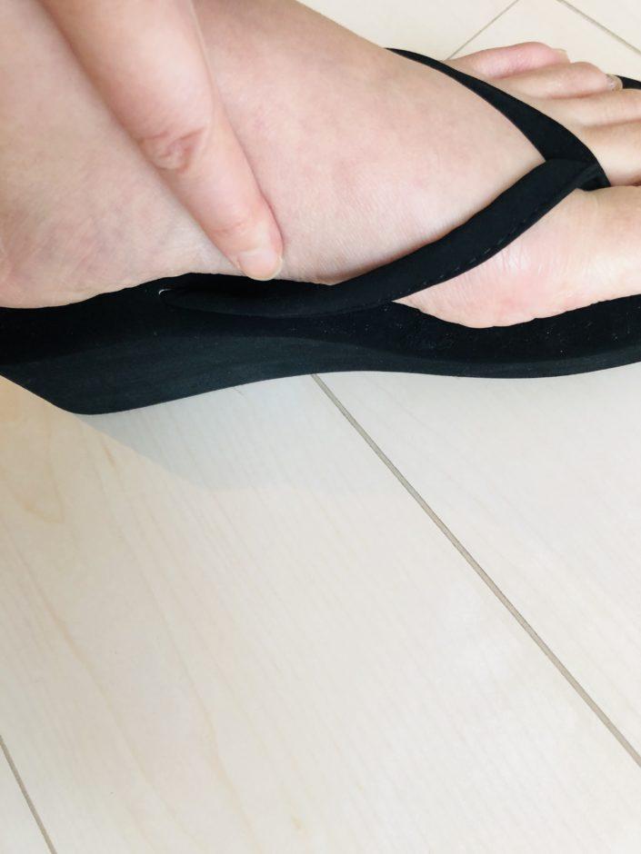 NANING9】厚底ビーチサンダル 【Mサイズ】ブラック