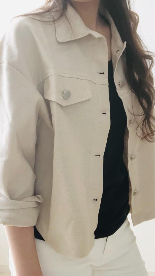 【CHERRYKOKO】カジュアルジャケット【フリー】ベージュ