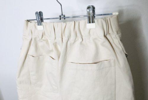 NANING9のミモレ丈コットンスカート