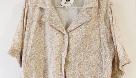 【購入品レビュー】しまむらの襟付き花柄シャツ(990円)が着心地良い&かわいい【UBシャツ】