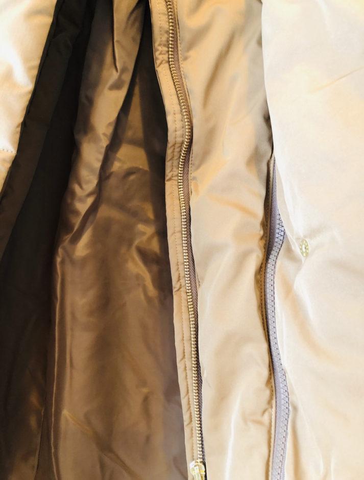 アメリカンホリックの2WAYスタンド衿取り外しエコダウンロングコート