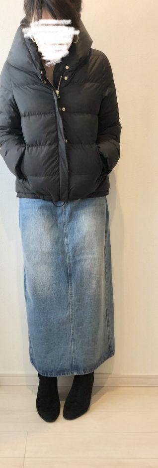 夢展望の6cmチャンキーヒールスクエアトゥルーズフィットショートブーツ
