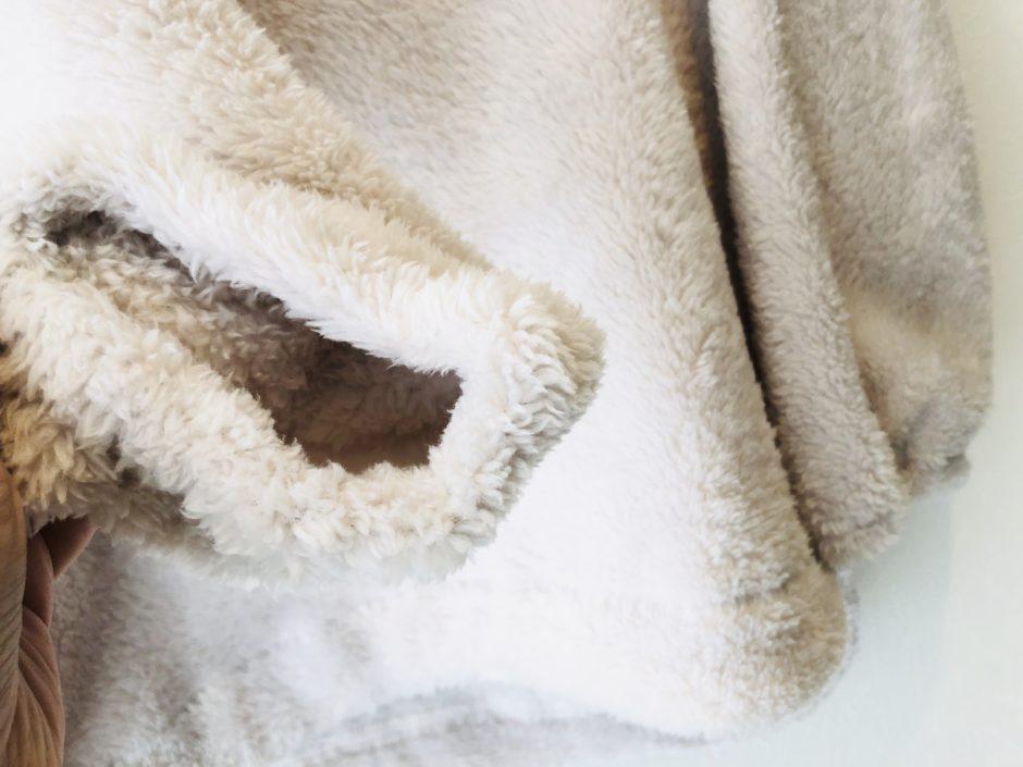 セシールのあったかボアフリースパジャマ(かぶりタイプ)