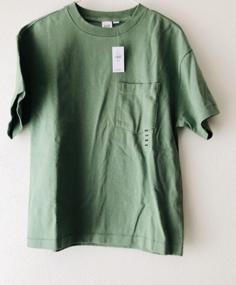 GAPで購入したTシャツ
