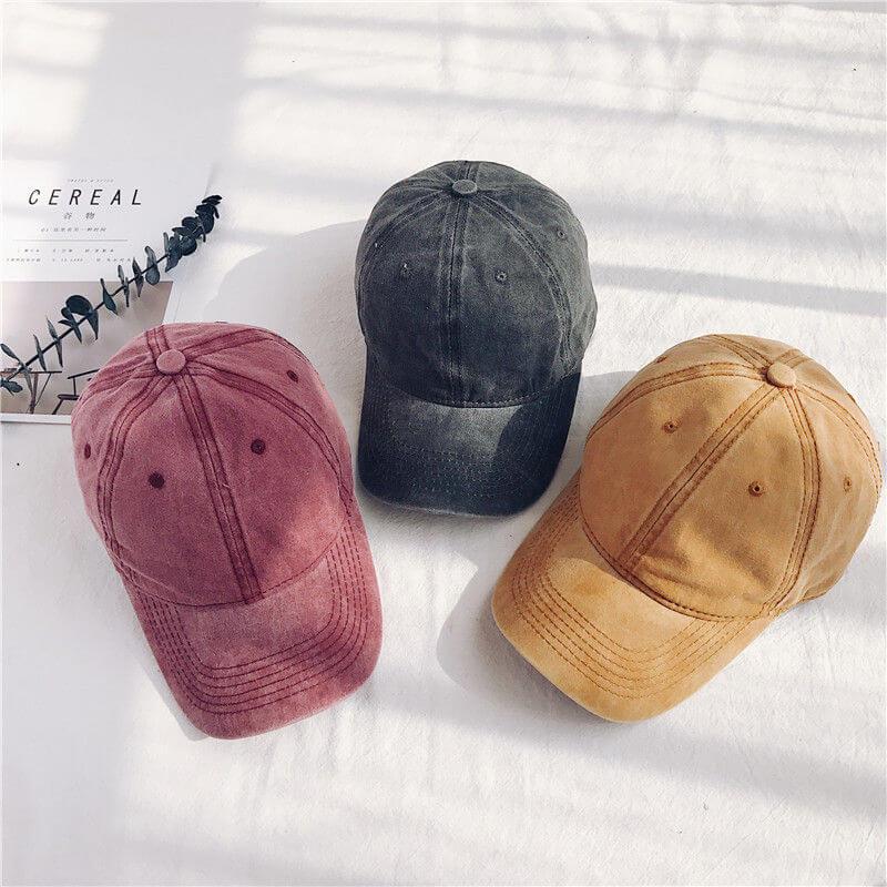 Yes Style 購入品 LANWO - Plain Denim Baseball Cap