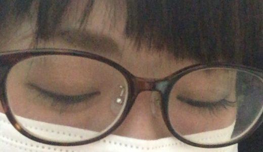 【写真】JINSのべっ甲フレームのメガネは買って正解。鼻低いけど快適