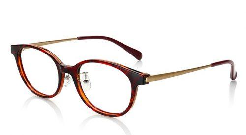 JINSのべっ甲柄メガネ